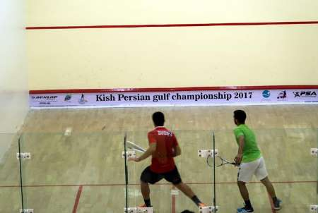 Iran ranks 3rd in int'l squash competitions