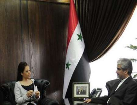 Iran's envoy discusses issues of mutual interests with Syrian cabinet minister