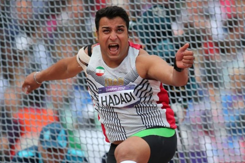 Iran discus thrower wins Long Beach competitions
