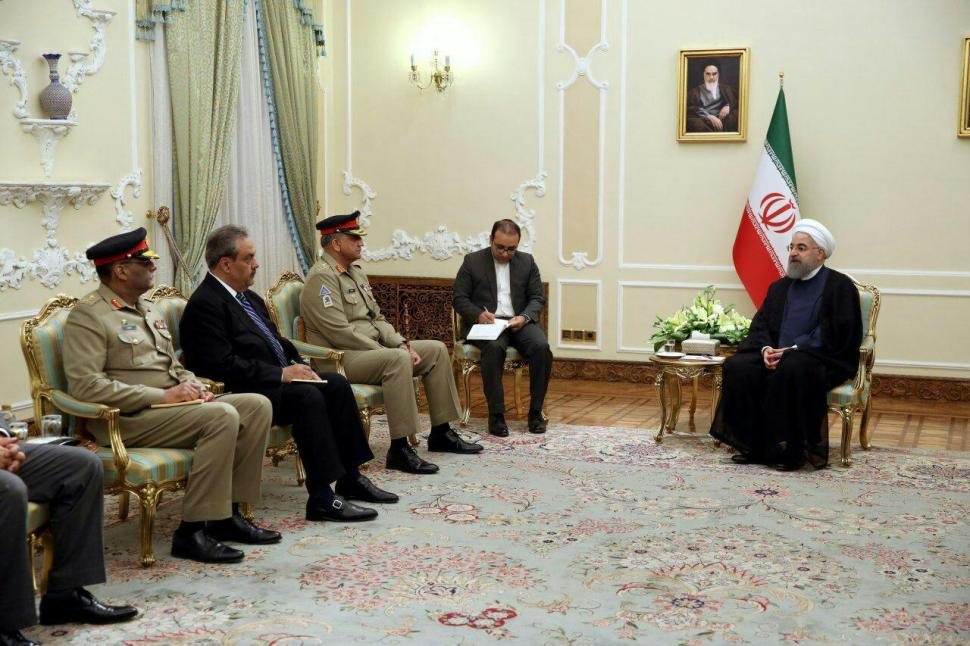 Iran welcomes expansion of military ties with Pakistan