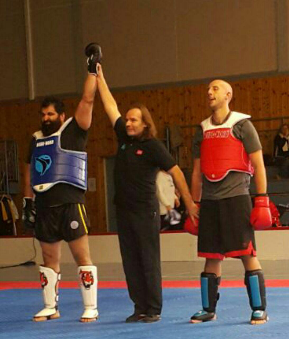 Iranian wushu fighter bags gold in Norway