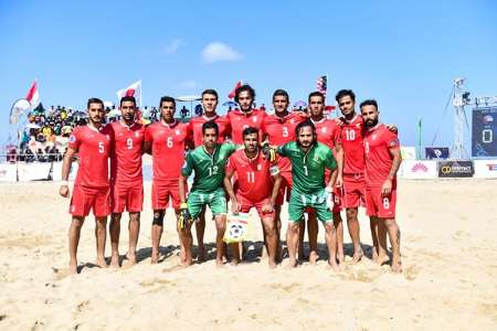 Iran ranks 1st in AFC Beach Soccer champs