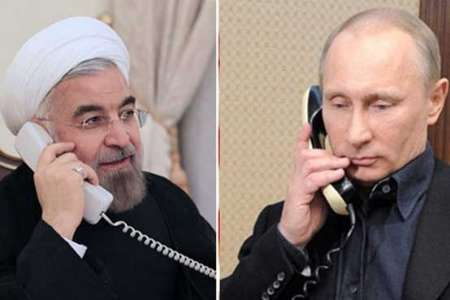 Iranian, Russian presidents discuss JCPOA, regional cooperation
