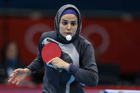 Iran's resounding victory over Turkmenistan in Table Tennis