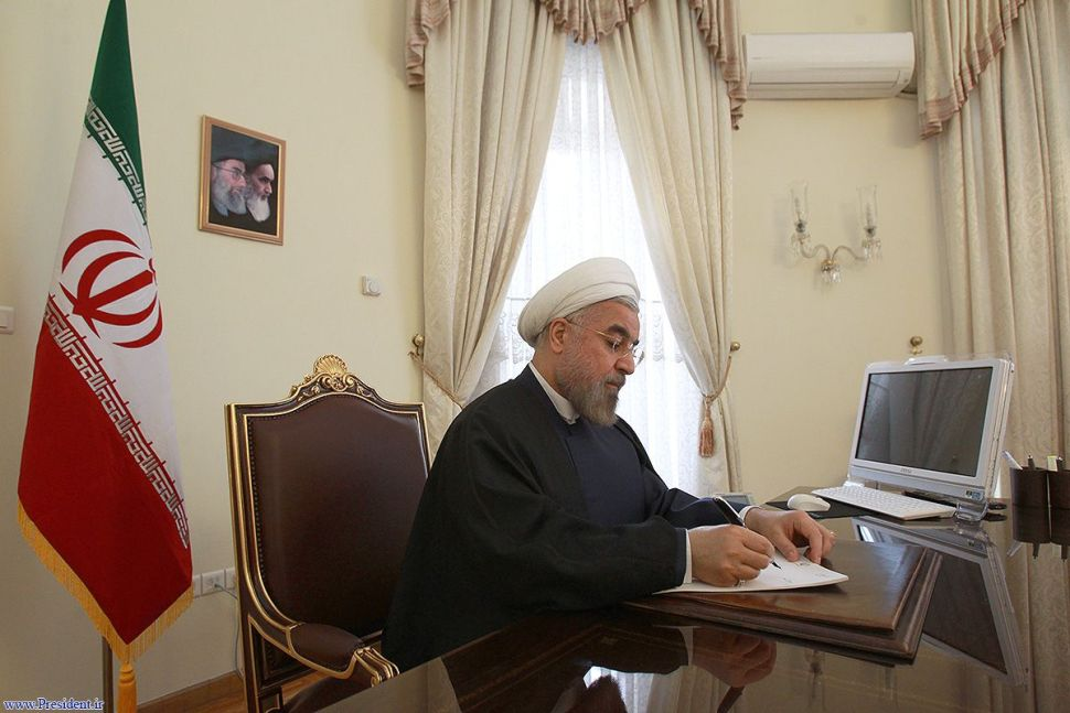 President Rouhani felicitates New Zealand PM