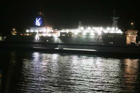 First cruise ship enters Kish island waters