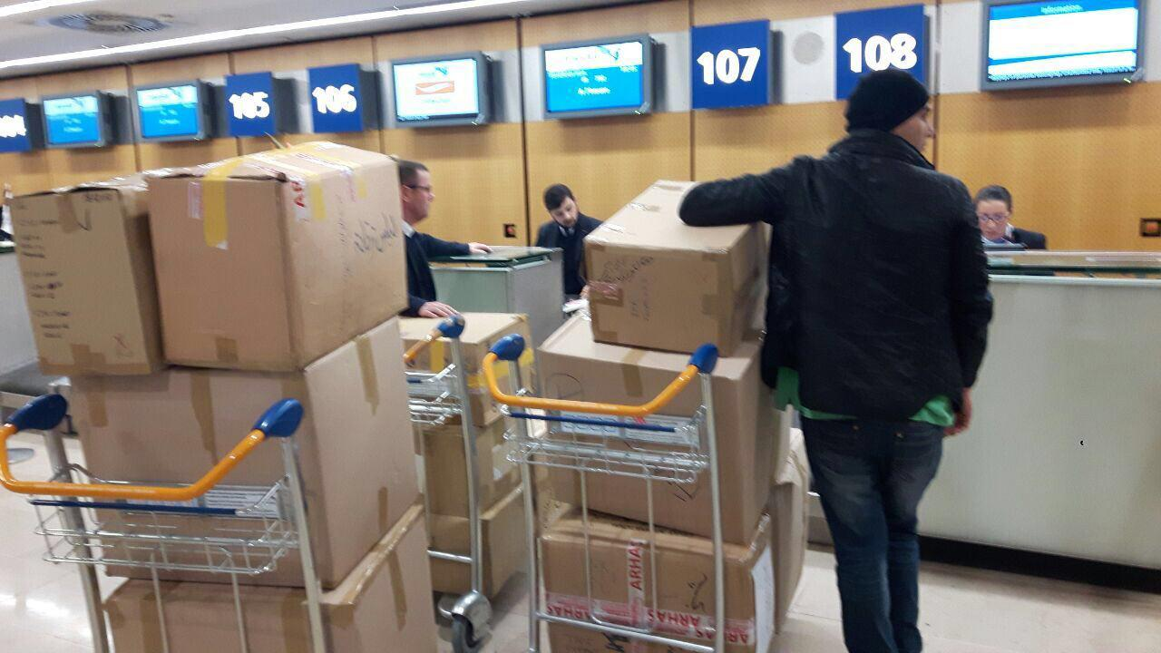 Iranian residents in France send 2nd humanitarian consignment to quake-hit people
