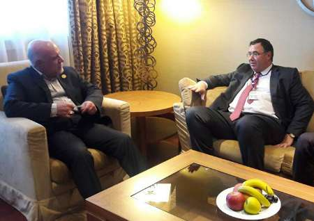 Iran petroleum minister, Total CEO meet in Vienna