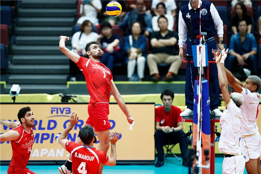 Iran volleyball team snatches 1st int'l medal in World Grand Champs