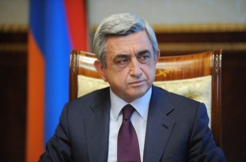 Armenian President sympathizes with victims of Iran's strong quake