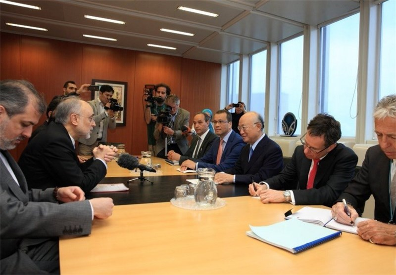 Iran's Nuclear Chief, IAEA's Amano Meet in Vienna