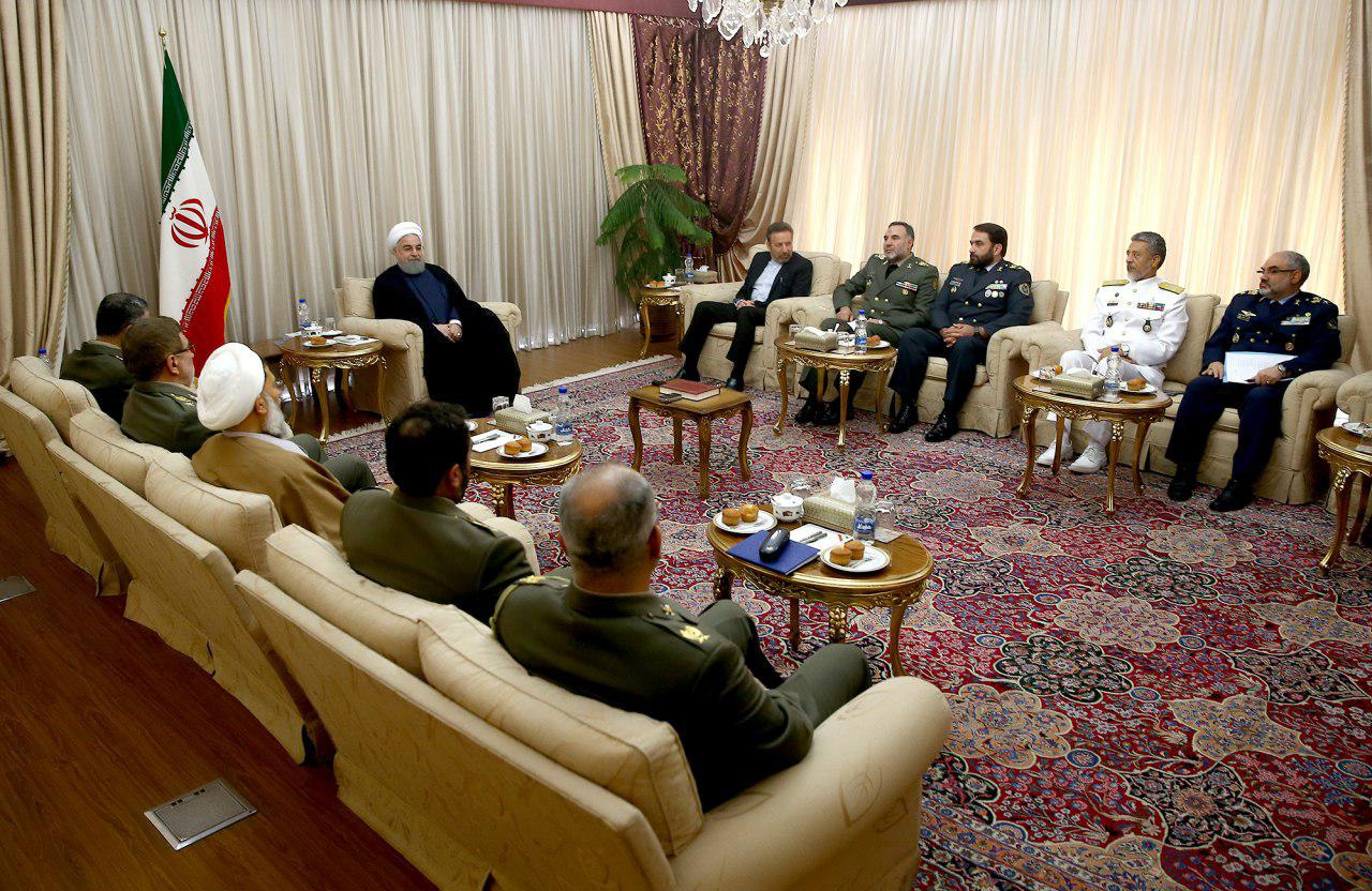 President: Iran Army enjoying public confidence, independence
