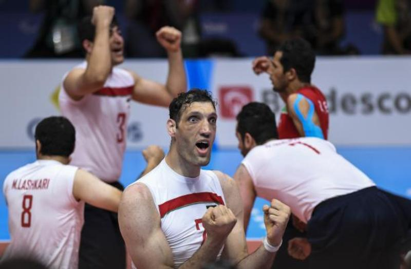 Iranian paralympic player named Allianz Athlete for July