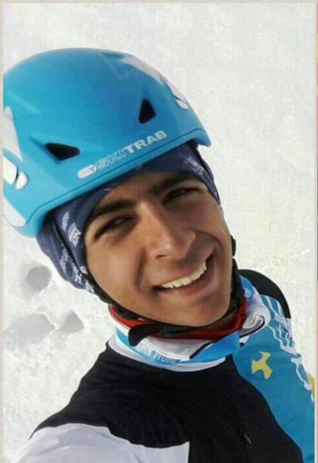 Iranian mountaineer bags gold medal in 2017 Asian Cup