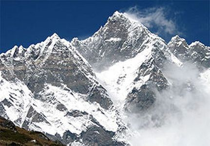 On election day, Iranian flag hoists over Himalaya Lhotse Peak