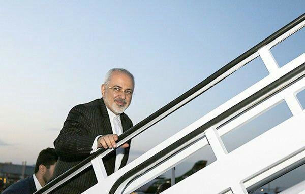 Zarif leaves for Turkey to attend trilateral meeting