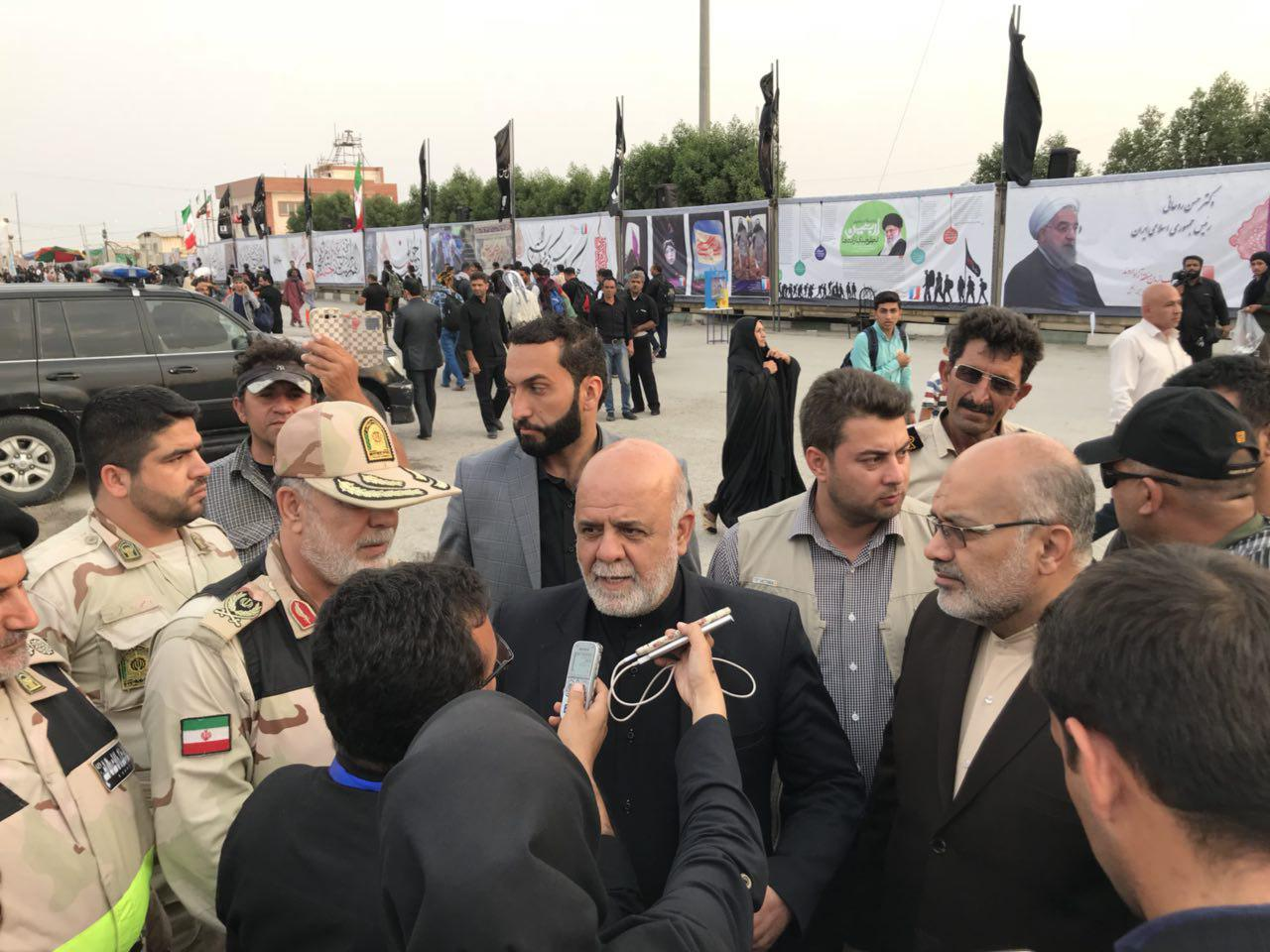 Two million Iranian pilgrims in Iraq for Arbaeen rituals