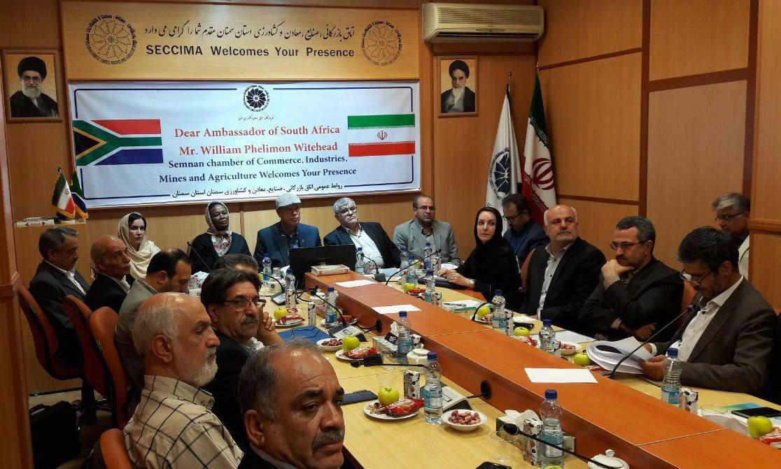 Envoy: Iran ups export capacities to South Africa